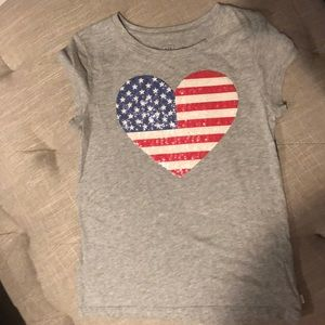 ( 2 for $15) Gap Girls shirt size 6/7